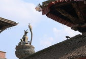 King Yoganarendra Malla's column-Patan-Nepal. — Stock Photo
