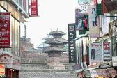0195 Makhan Tole area of the Durbar Square-Kathmandu-Nepal. — Stock Photo
