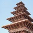 Stock Photo: Five roofed Nyatapoltemple. Bhaktapur-Kathmandu Valley-Nepal. 0221