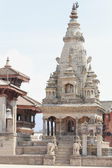 The Vatsala Durga temple. Durbar Square-Bhaktapur-Nepal. 0234 — Stock Photo