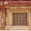 Stock Photo: Latticed window in Royal Palace. Bhaktapur-Nepal. 0242