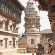 Royal Palace and Siddhi Lakshmi temple. Bhaktapur-Nepal. 0238 — Stock Photo