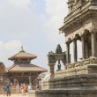 Stock Photo: Kedarnath-Rameshwor-VatsalDurgTemples and KhichKho Gan-Bhaktapur-Nepal. 0273