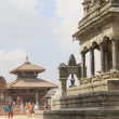 Kedarnath-Rameshwor-Vatsala Durga Temples and Khicha Kho Gan-Bhaktapur-Nepal. 0273 — Stock Photo
