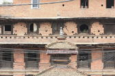 Old house in a Bhaktapur street-Nepal. 0276 — Stock Photo