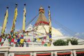 The big stupa of Boudhanath-Bodhnath. Kathamandu-Nepal. 0305 — Stock Photo