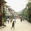 Stock Photo: Central-unique street. Bandipur-Nepal. 0367