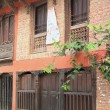 Stock Photo: Newari style house. Bandipur-Nepal. 0369