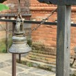 Stock Photo: Bronze bell. Bandipur-Nepal. 0373