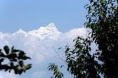 Ganesh Himal Mountain Range-Ganesh I Peak seen from Bandipur-Nepal. 0407 — Stock Photo