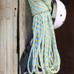 Climbing gear hanging at the door. Bandipur-Nepal. 0457 — Stock Photo #48268371