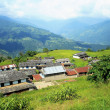 Homesteads of Dhampus village-Nepal.. 0477 — Stock Photo