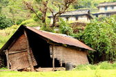 Old cabin with mat walls. Landruk-Nepal. 0579 — Stock Photo