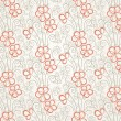 Royalty-Free Stock Vektorfiler: Abstract floral seamless background