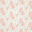 Royalty-Free Stock Vektorgrafik: Abstract floral seamless background