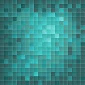 Azuurblauwe eps10 mozaïek achtergrond — Stockvector