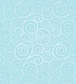 Frosty winter swirl seamless pattern — Cтоковый вектор