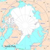 North Pole — Stockvector