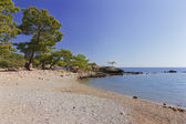 Old beach at Phaselis, Turkey — Stock Photo