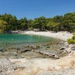 Beach in Phaselis, Turkey. — Stock Photo