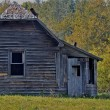 Stock Photo: Antique Prairie home