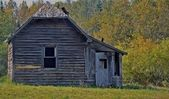 Antique Prairie home — Stock Photo