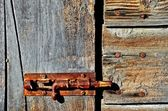 Antique Barn latch — Stock fotografie