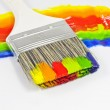 Paint brush multicolor — Stock Photo #10688900