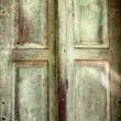 Old vintage retro wooden door background — Stock Photo