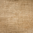 Burlap jute canvas vintage background — Stock Photo