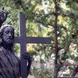 Jesus Christ on cemetery in Warsaw — Lizenzfreies Foto
