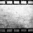 Old grunge film frame vintage background — Stock Photo