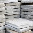 Stock Photo: Pile of paving slabs background concept