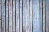 Old wooden blue painted boards background texture — Stock Photo