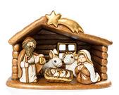 Jesus kristus barnet, maria och josef — Stockfoto