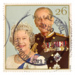 Queen Elizabeth II and Duke of Edinburgh - Stock Photo