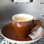 Cup of fresh espresso coffee — Stock Photo #13394728