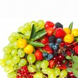 Mix of fresh summer berries — Stock Photo