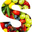 Mix of fruits and berries — 图库照片 #13398087