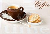 Kawę z ciasteczkami — Zdjęcie stockowe