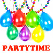 Stock Photo: Carnival or birthday party decoration