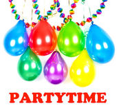 Carnival or birthday party decoration — Stock Photo