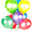 Colorful balloons. party decoration — Stock Photo #13411199