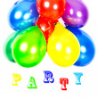 Colorful balloons. party decoration — Stock Photo #13411763