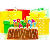 Happy birthday. card concept — Stock Photo