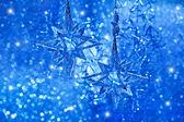 Estrellas brillantes. decoración de la navidad — Foto de Stock