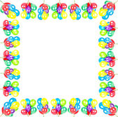 Color balloons. party decoration — Stock Photo