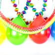 Colorful balloons and garlands. Party decoration — Stock Photo #13422170