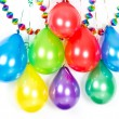 Royalty-Free Stock Photo: Colorful balloons and garlands. Party decoration