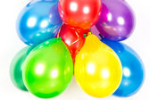 Colorful balloons. party decoration — Stock Photo